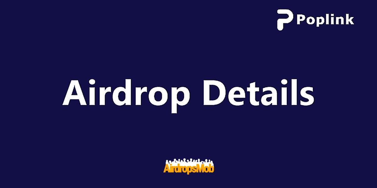Poplink Airdrop
