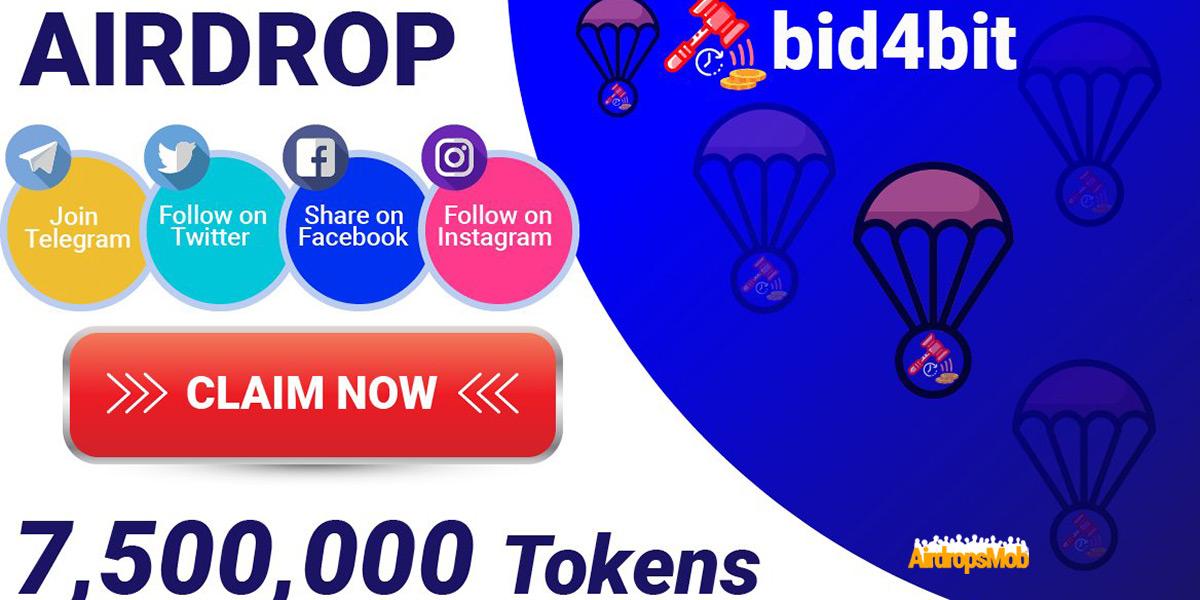 bid4bit Airdrop